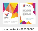 vector document  letter or logo ... | Shutterstock .eps vector #325530080
