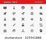 science icons. professional ... | Shutterstock .eps vector #325541888