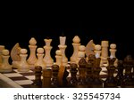 playing chess | Shutterstock . vector #325545734