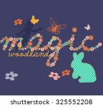 slogan design with fairy tale... | Shutterstock .eps vector #325552208