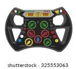 steering wheel f1 | Shutterstock . vector #325553063