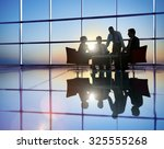 group of business people... | Shutterstock . vector #325555268