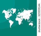 world map illustration | Shutterstock .eps vector #325559144