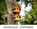 bird houses | Shutterstock . vector #325560884