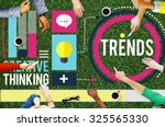 Trends Fashion Marketing Contemporary Trending Concept