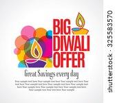 offer poster  banner or flyer... | Shutterstock .eps vector #325583570