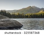 Bear Lake At Sunrise. Rocky...