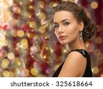 people  holidays  jewelry and... | Shutterstock . vector #325618664