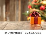decoration of xmas time and... | Shutterstock . vector #325627388
