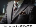 men suit | Shutterstock . vector #325640750