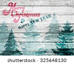 grungy christmas and new year...