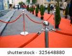 red carpet    is traditionally... | Shutterstock . vector #325648880