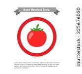 tomato icon | Shutterstock .eps vector #325676030