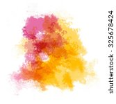 abstract watercolor painting. | Shutterstock . vector #325678424