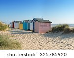 Colourful Beach Huts At...