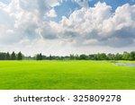 panorama view of beautiful... | Shutterstock . vector #325809278