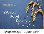 World Food Day  October 16 ...