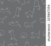 cats | Shutterstock .eps vector #325847354