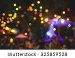 live concert gig during... | Shutterstock . vector #325859528