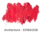 smudged lipstick abstract... | Shutterstock . vector #325861028