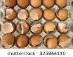 A Tray Of Eggs  The Majority O...