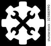 service tools vector icon....   Shutterstock .eps vector #325880990