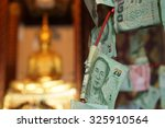 religion of thailand close up...   Shutterstock . vector #325910564