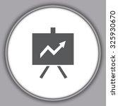 gray vector business growing... | Shutterstock .eps vector #325930670