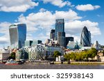 Modern Cityscape Of London ...
