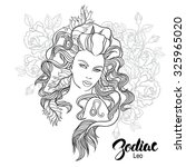 zodiac. vector illustration of... | Shutterstock .eps vector #325965020