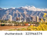 downtown salt lake city skyline ... | Shutterstock . vector #325966574