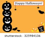 happy halloween invite | Shutterstock .eps vector #325984136