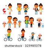 people set | Shutterstock .eps vector #325985378