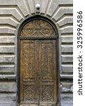 Dark Wooden Door