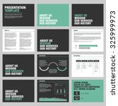 presentation template design | Shutterstock .eps vector #325999973