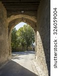 Small photo of Arch entrance gate of the Blaye Citadel, Gironde, France