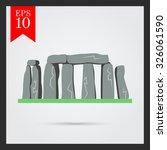 stonehenge icon | Shutterstock .eps vector #326061590