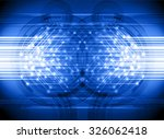 dark blue illustration of... | Shutterstock . vector #326062418