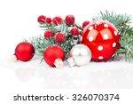 Christmas Balls And Fir...