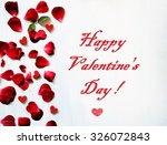 valentine's day  | Shutterstock . vector #326072843