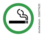 Smoking Area Sign . Vector...