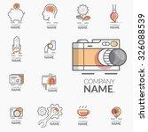 concept logos for business... | Shutterstock .eps vector #326088539