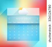 november  2016 ui calendar in...