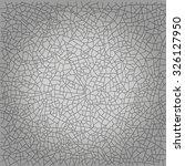 modern vector crack background. ... | Shutterstock .eps vector #326127950