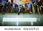 search box web online... | Shutterstock . vector #326132513