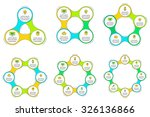 thin line flat elements for... | Shutterstock .eps vector #326136866