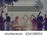 copy space blank idea... | Shutterstock . vector #326138054