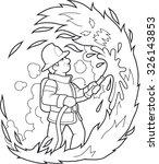 fireman   Shutterstock .eps vector #326143853
