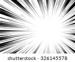 comic book black and white... | Shutterstock .eps vector #326145578