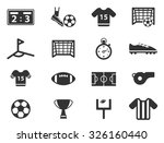 football simply icons | Shutterstock .eps vector #326160440